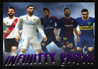 PES 6 Infinity Patch PC Update October 2017 / 2018