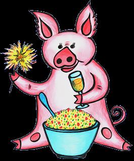 Свинни Хрю - Год свиньи - принтшопы - товары с фотопечатью - сувениры к новому году
