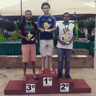 Picuiense fica em terceiro colocado no geral, em Campeonato de xadrez em Picuí