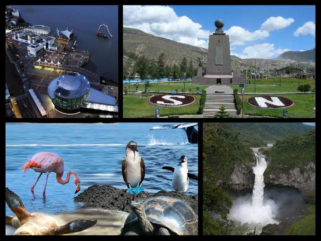 lugares mas visitados de Ecuador