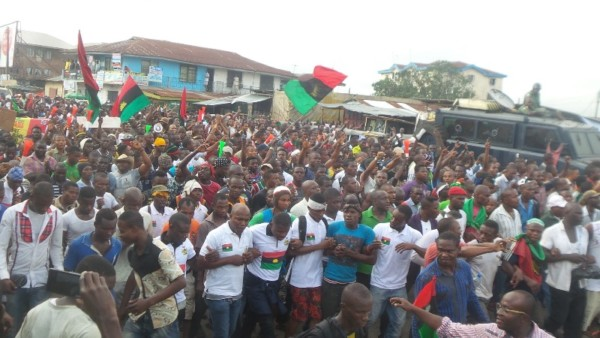 Police Arrest 59 IPOB Members,To Be Tried As Terrorists