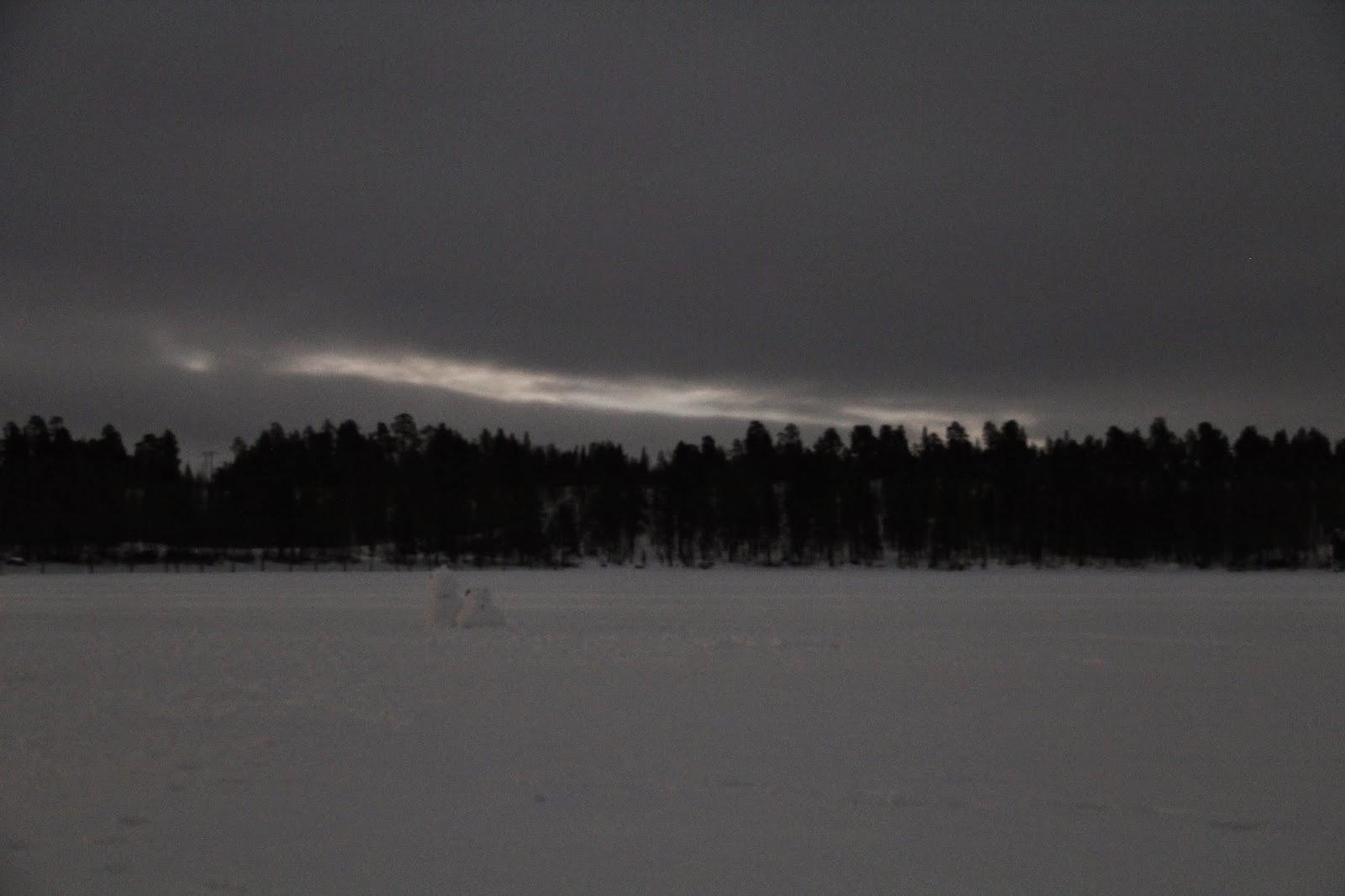 Lake Menesjarvi, Finnish Lapland