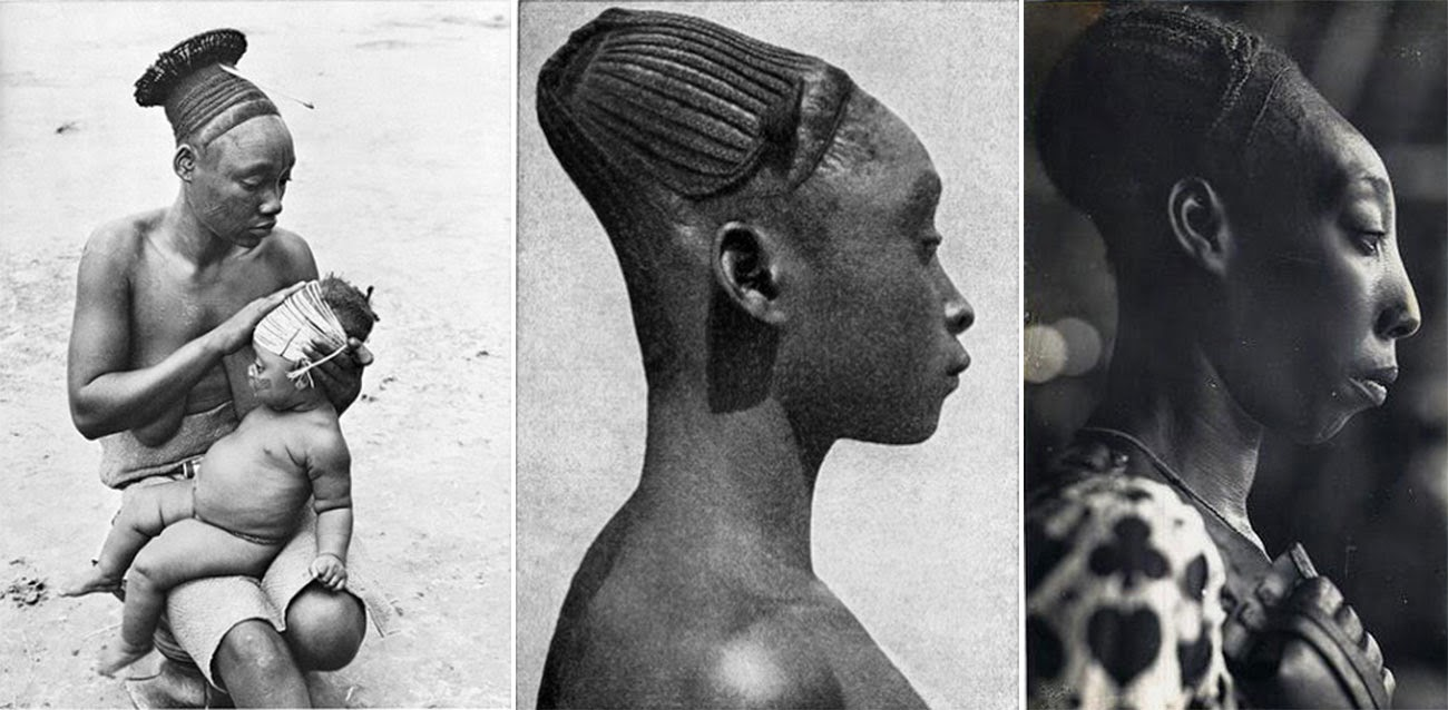 Image result for Mangbetu people SHAPING HEADS OF THEIR BABIES