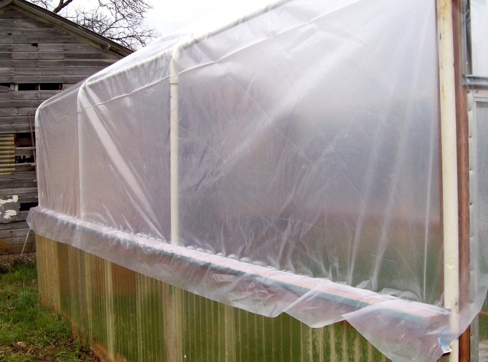 How To Attach Greenhouse Plastic To Wood Frame Bindu