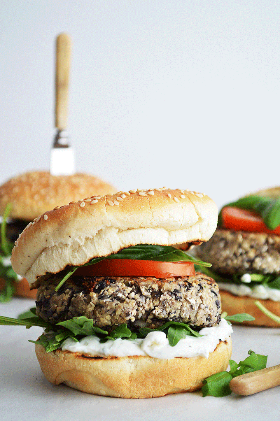 Black Beans and Couscous Burger | https://oandrajos.blogspot.com