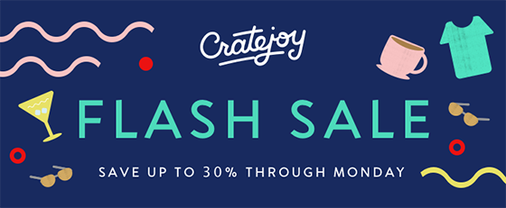 father's day flash sale cratejoy