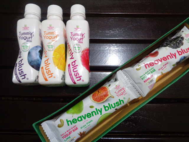 heavenly blush yogurt bar dan heavenly blush yogurt drink