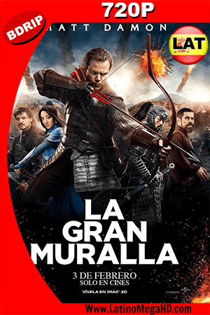 La Gran Muralla (2016) Latino HD BDRip 720p ()
