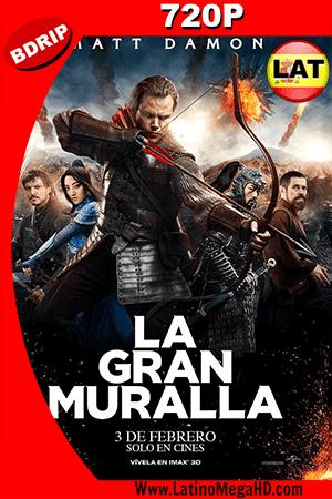 La Gran Muralla (2016) Latino HD BDRip 720p ()