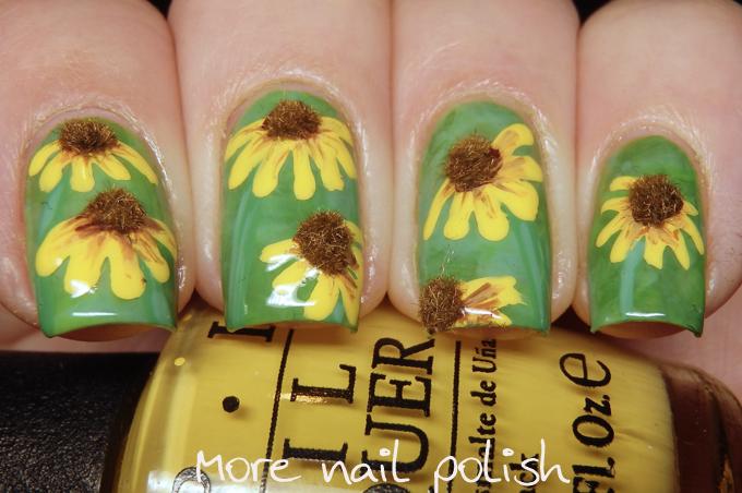 Lots of Great Floral Nail Art Ideas ~ More Nail Polish