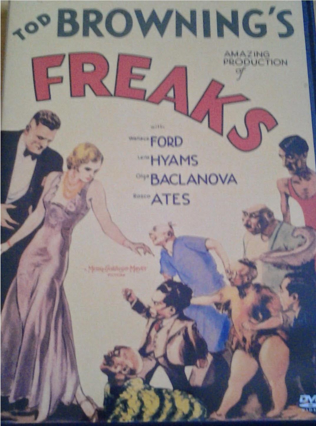DVD Cover - Freaks