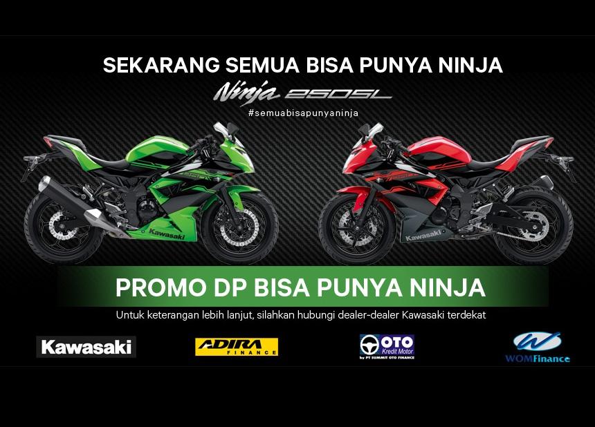 Kawasaki Motor Indonesia luncurkan DP dan cicilan ringan untuk Ninja 250SL