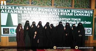 Terkait Pemilu, Muslimah Aliansi Nasional Anti Syiah Gelar Aksi Damai di Medan