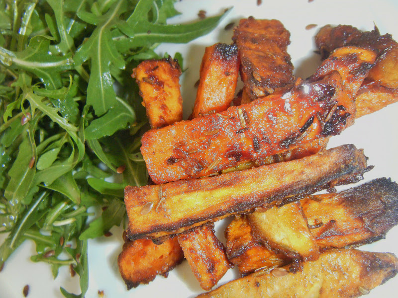 patate douce barbecue