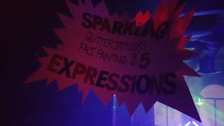 German Sparkle Party Sign