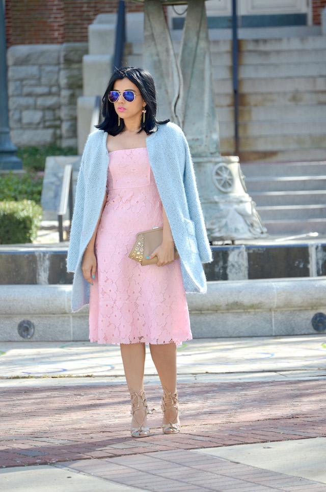 Romantic Dress-MariEstilo-Fashion Blogger-Latina Blogger-ArmandHugon-dc blogger