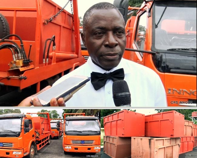 Cross Rivers State government introduces 20 Innoson cars for waste manage