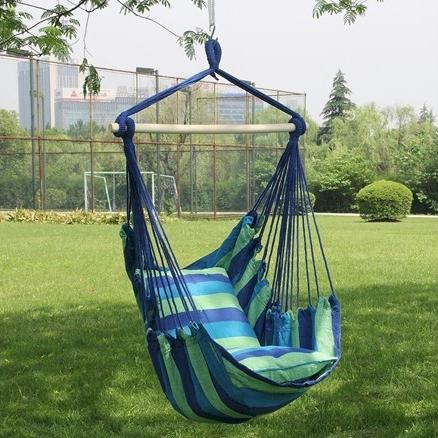Superbe Sorbus Hanging Rope Hammock Chair Swing For $24.99