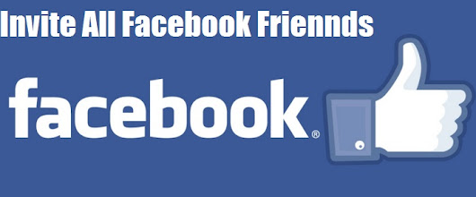 How To Invite All Facebook Friends To Your Page Group etc On One