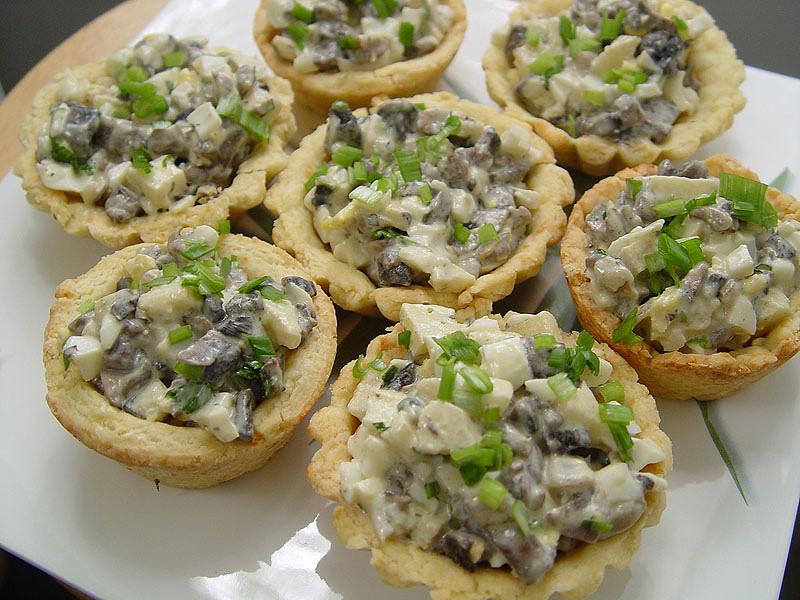 Салат из грибов фото рецепты