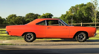 1969 Plymouth Road Runner 383 Magnum Side Right