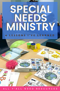 Getting church leadership invested, setting up a special-needs church room, and using God-given skills are important lessons.