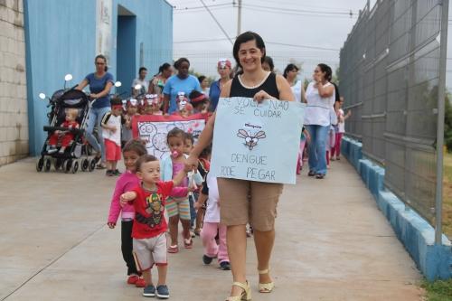 Escolas de Olímpia promovem ações de conscientização e combate à dengue