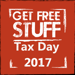 free stuff on tax day
