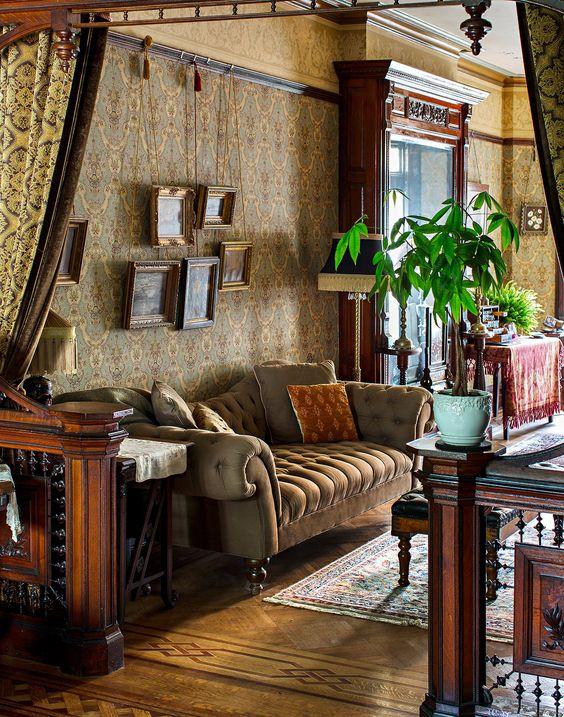 Olkd Study Room: Old World Study- Rec Room Inspiration