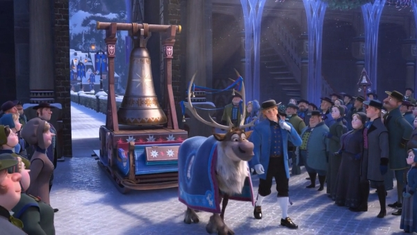 It's Kristoff and Sven and the Jule bell!