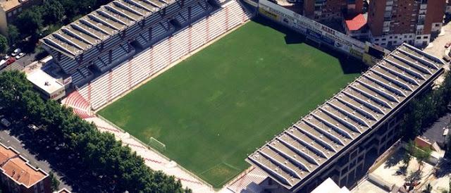 Estadio de Vallecas, el más pequeño (Madrid)