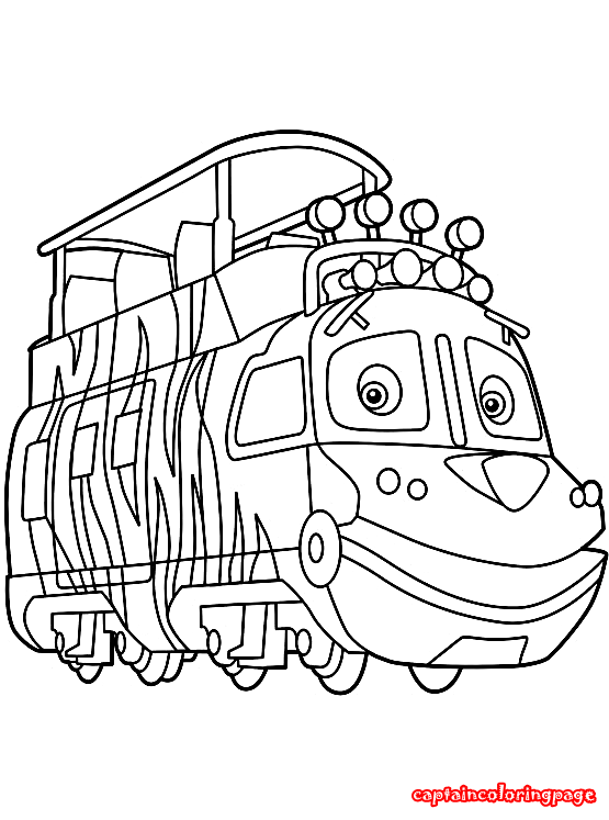 Chuggington coloring pages free Coloring Page