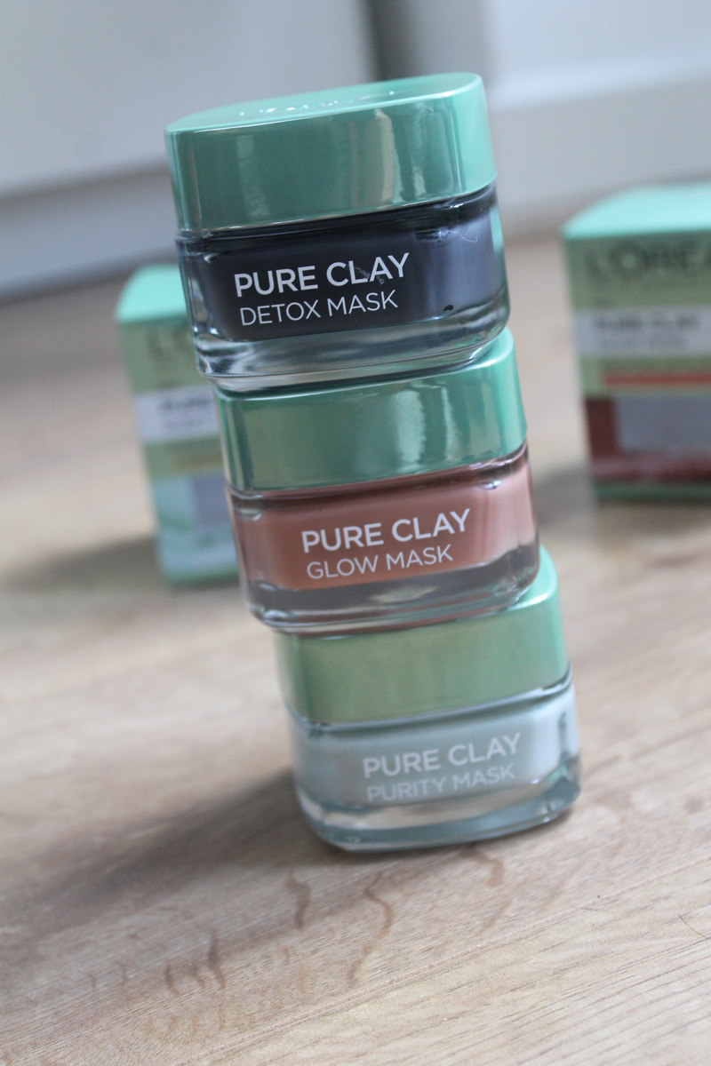 L'Oreal Paris Pure Clay Collection