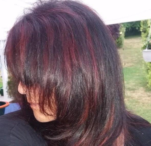 Heike Testet Garnier Olia Haarfarbe