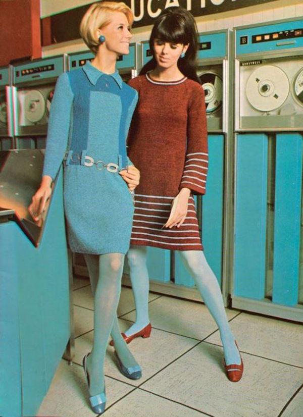 le port des collants dans les années 60