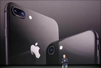 آبل تطلق هاتف آيفون 8 و 8 بلس.. شاهد التفاصيل