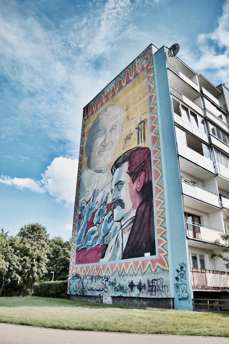 Murale w Gdańsku, Murale Gdańsk Zaspa, co zobaczyć w Gdańsku, Gdańsk atrakcje, Trójmiasto co zobaczyć, Trójmiasto przewodnik