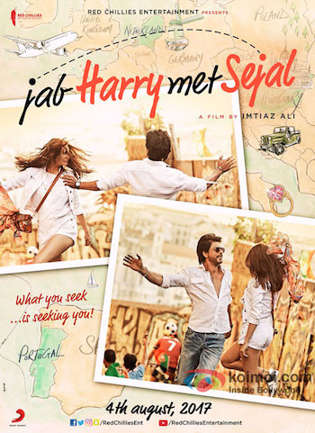 Jab Harry Met Sejal 2017 Hindi 720p DVDRip 1GB