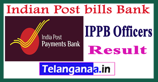 IPPB Officers Scale 1 Interview Result 2018 Merit list