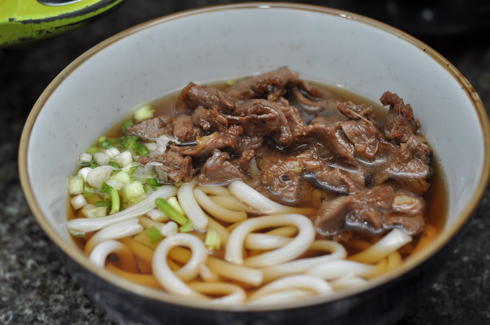how to make beef udon noodle soup
