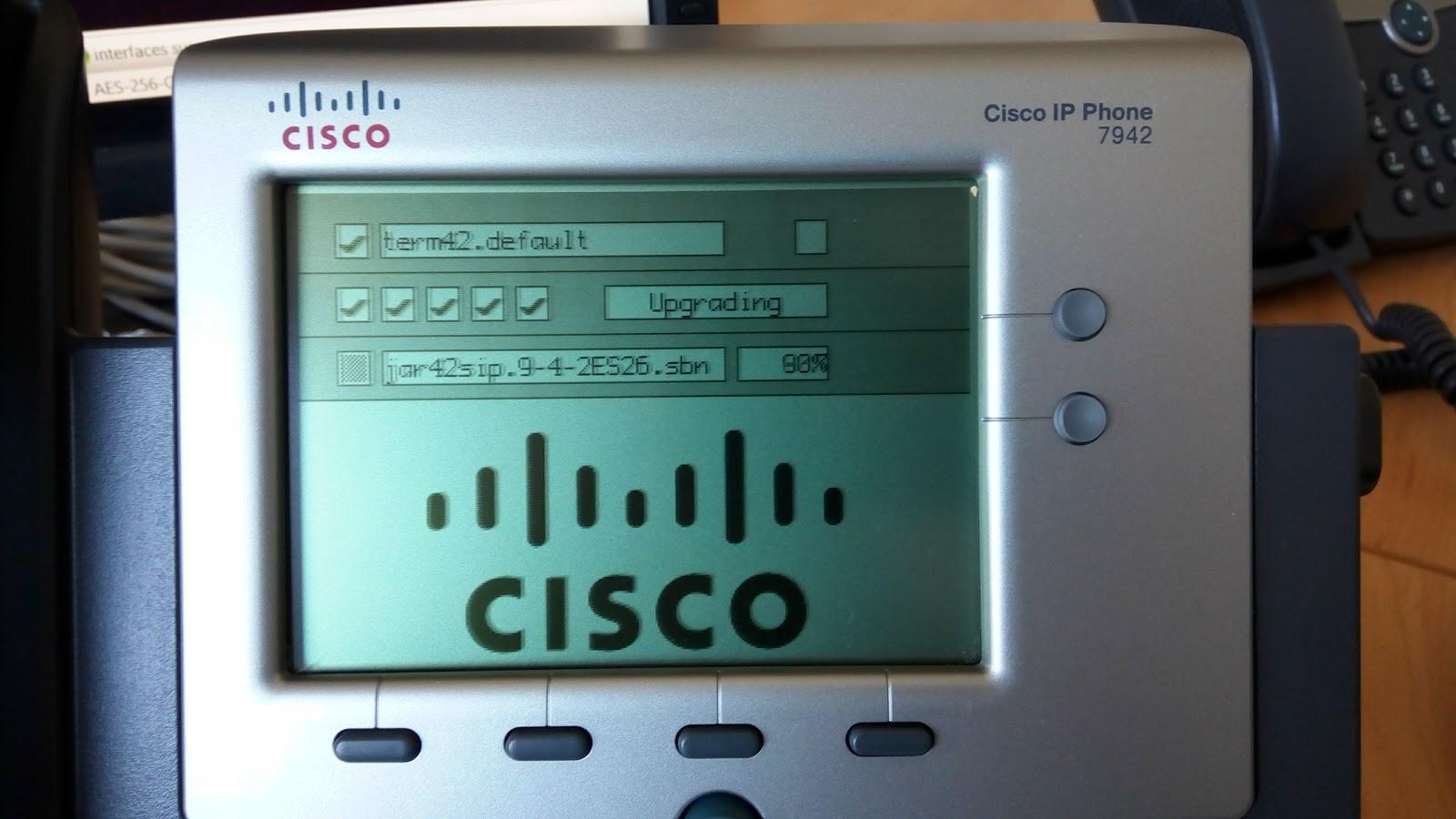 ИТ, сети, безопасность : How to update firmware Cisco IP