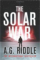 The Solar War by A.G. Riddle (Book cover)
