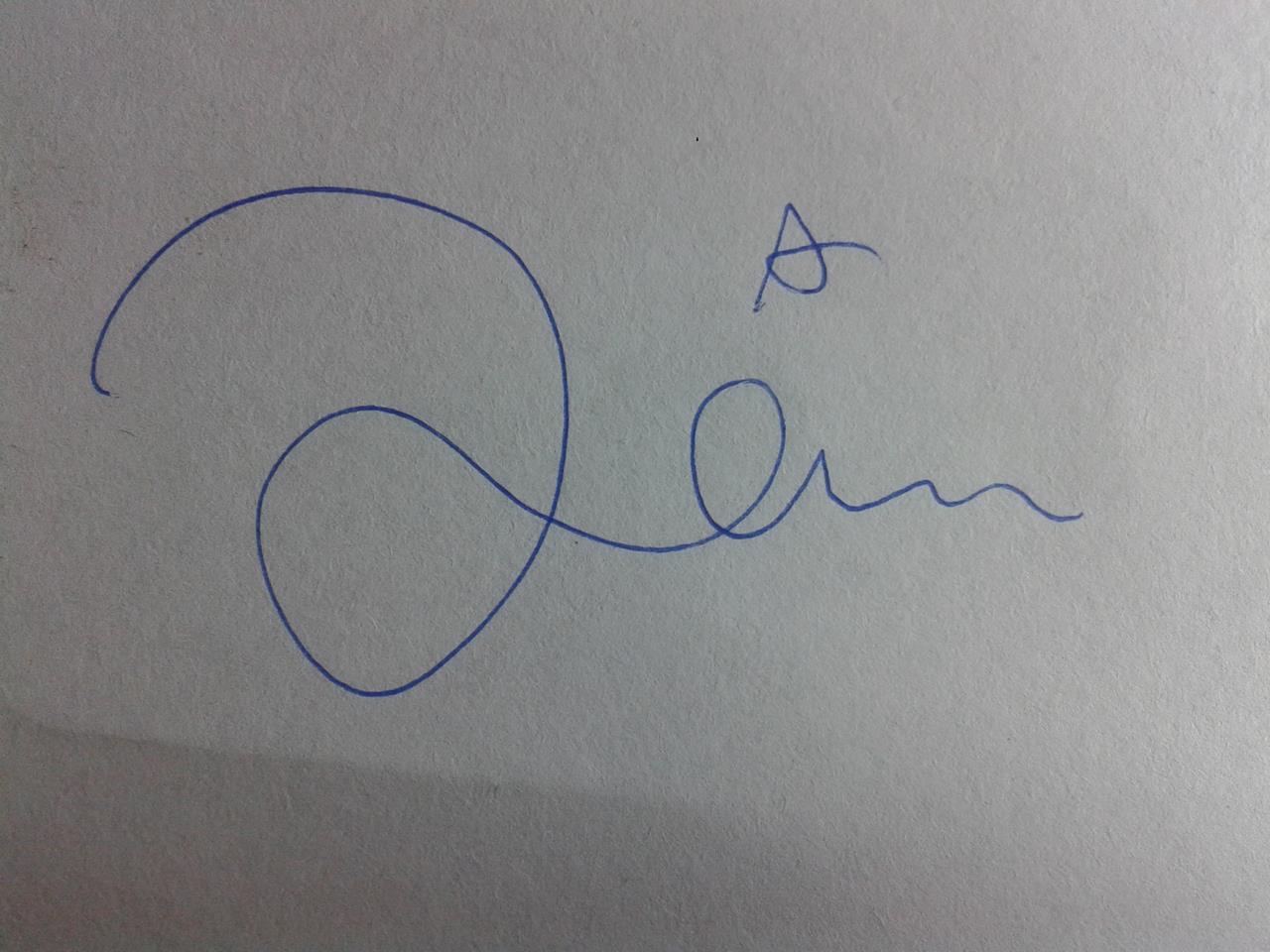 kriba kribo tanda tangan kuliah kresnoadi