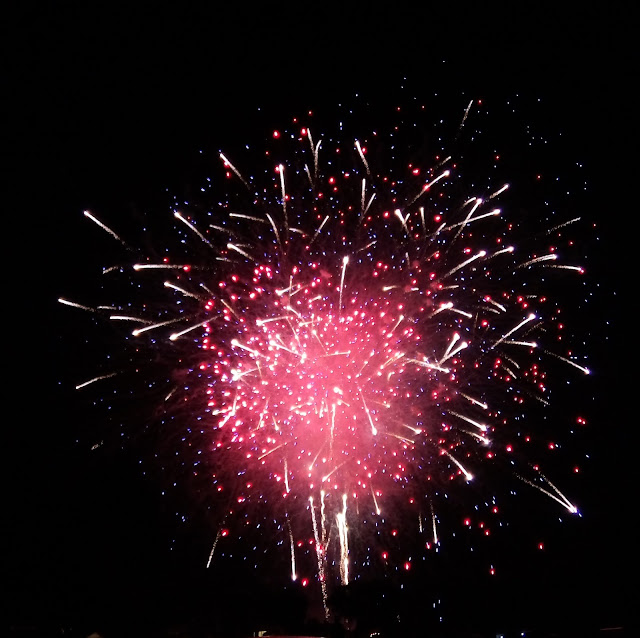 4th of July fireworks in Solvang