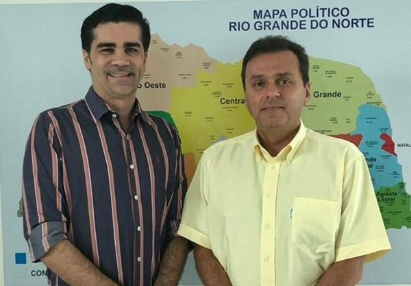 Presidente do PTB-RN define apoio a Carlos Eduardo no 2° turno