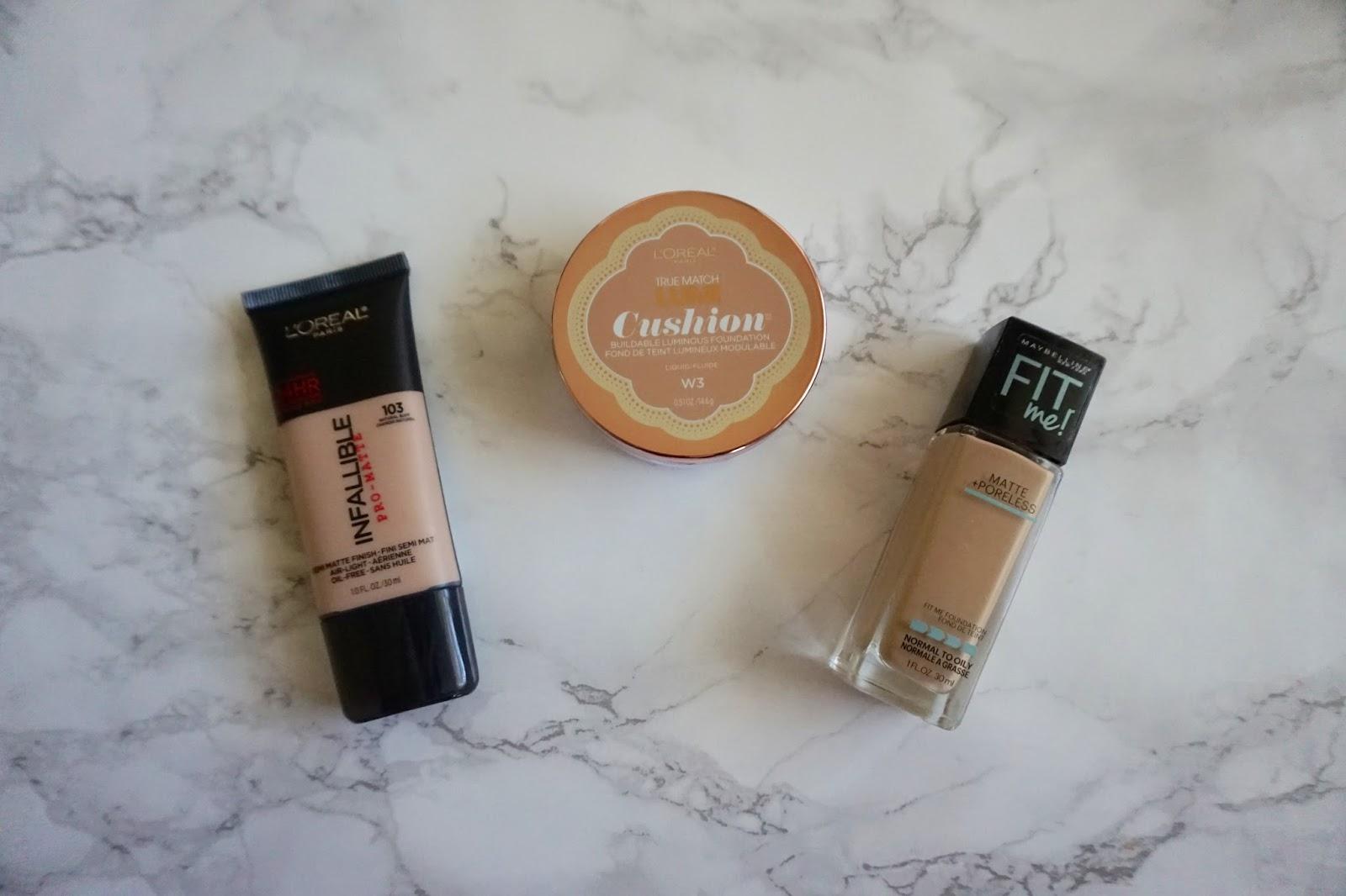 Mayme Brown Makeup Drugstore Foundations Loreal Lumi Cushion Buildable Luminous Foundation
