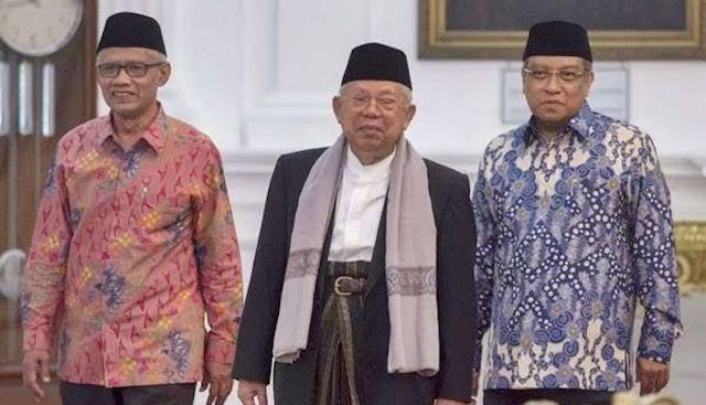 Jokowi-Ma'ruf Unggul di Pemilih NU dan Muhammadiyah