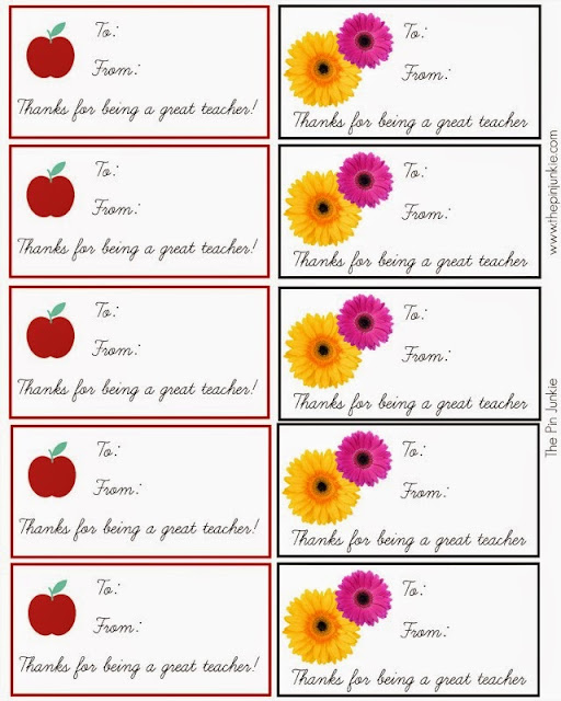 printable teacher gift tags