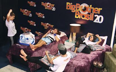 BBB20: Daniel, Caon, Renata e Ivy falam como seria disputar provas do BBB20