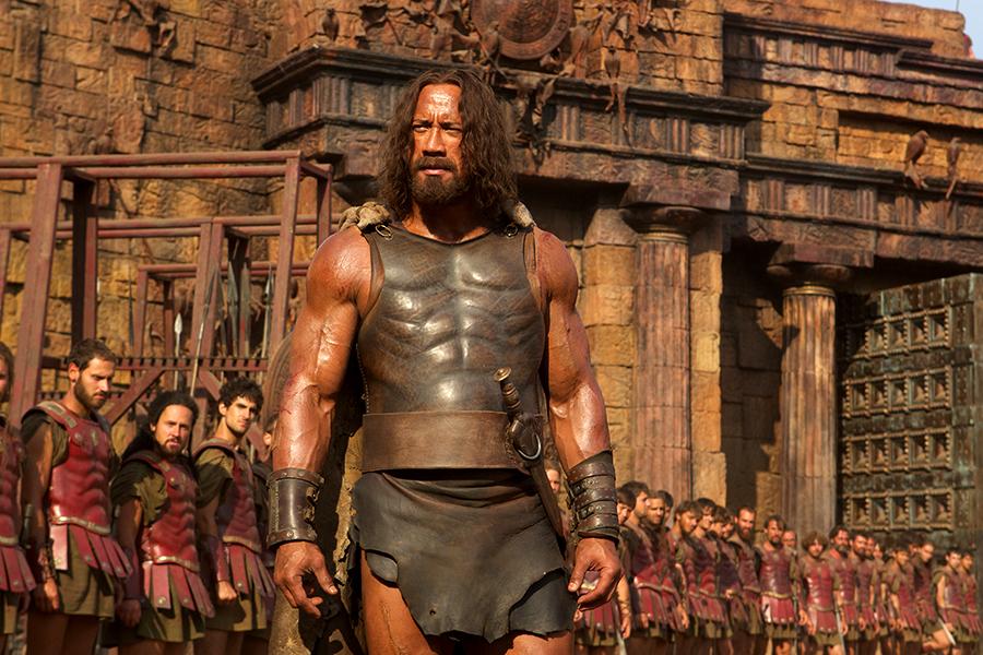 Dwayne Johnson în rolul lui Hercule